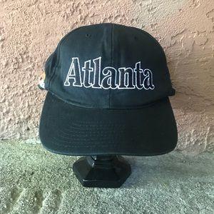 Other - Atlanta Peach Black Snap Back